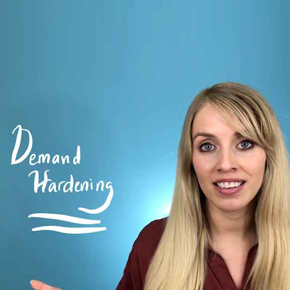 Water Words: 'Demand Hardening'