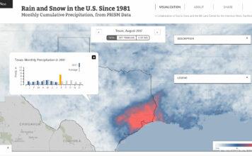 precipitation map ecowest