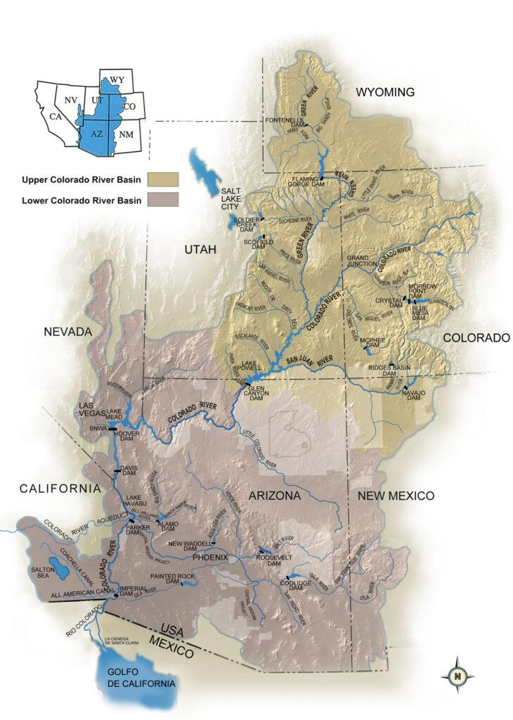 Colorado River Basin map 2
