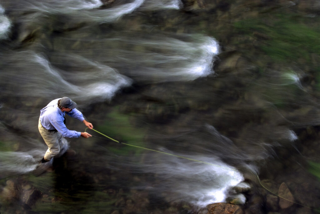Fly fishing photo