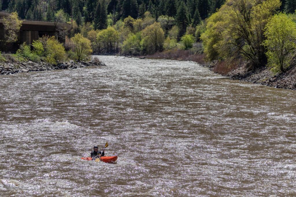 Kayaker photo
