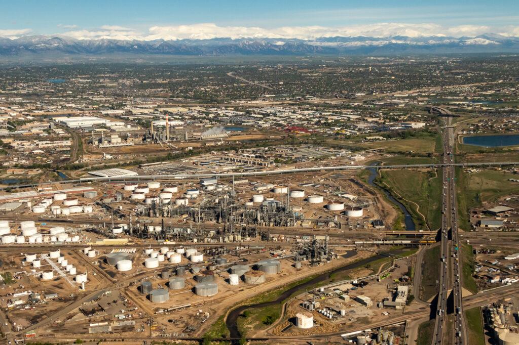 Suncor Refinery photo