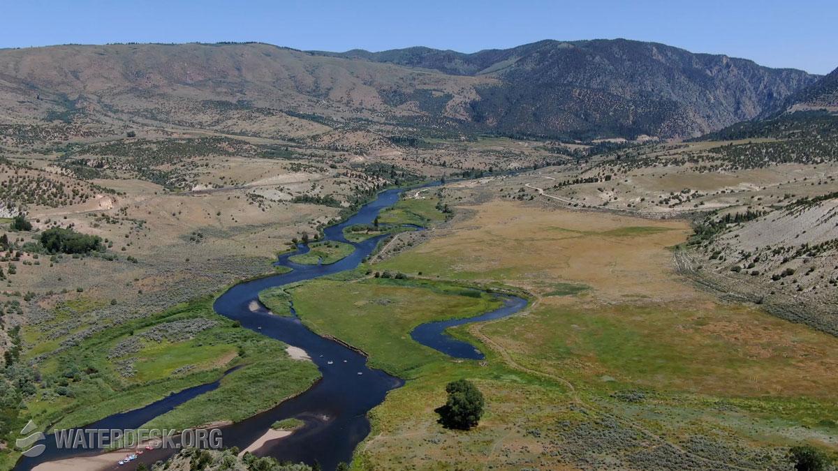 Colorado River near Radium, Colorado. Photo by Mitch Tobin