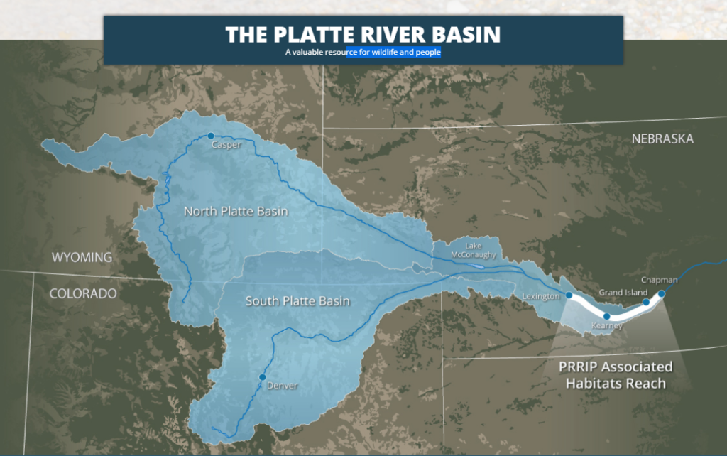 The three-state Platte River Recovery Implementation Program was reauthorized by Congress and President Trump at the end of the year in a rare show of bi-partisan support for species conservation. Credit: PRRIP