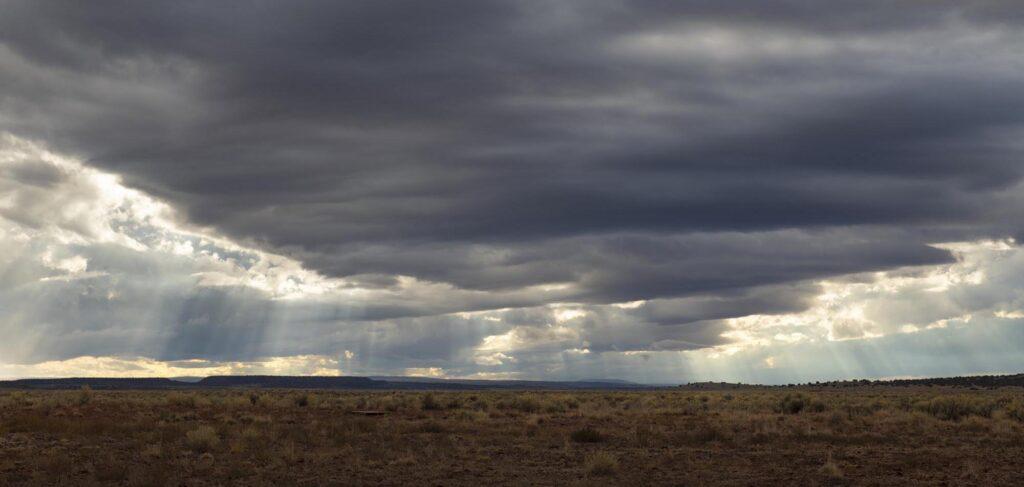 The Zuni River basin near the New Mexico and Arizona state line.