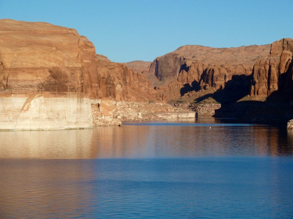The total inflow into Lake Powell for the 2020 water year was about 6 million acre-feet.