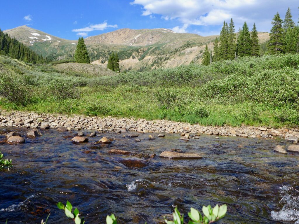 Roaring Fork River headwaters