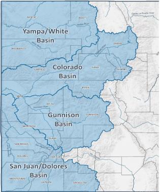 Demand Management basin map