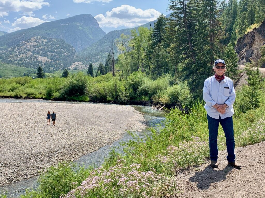 Marble Town Manager Ron Leach is looking for ways to augment the town's water supply, which comes from the Crystal River aquifer.