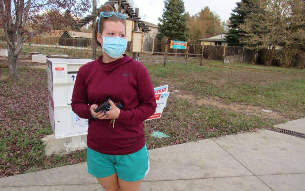 At the polls Tuesday, a Longmont woman, who asked that her name not be used, said she supported increased funding for water to ensure Colorado's rivers and streams remain healthy.