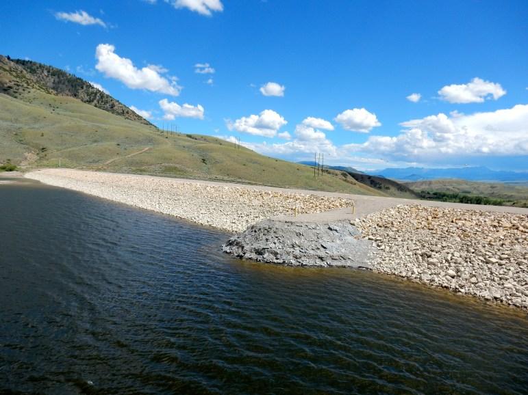 Ritschard dam photo 2