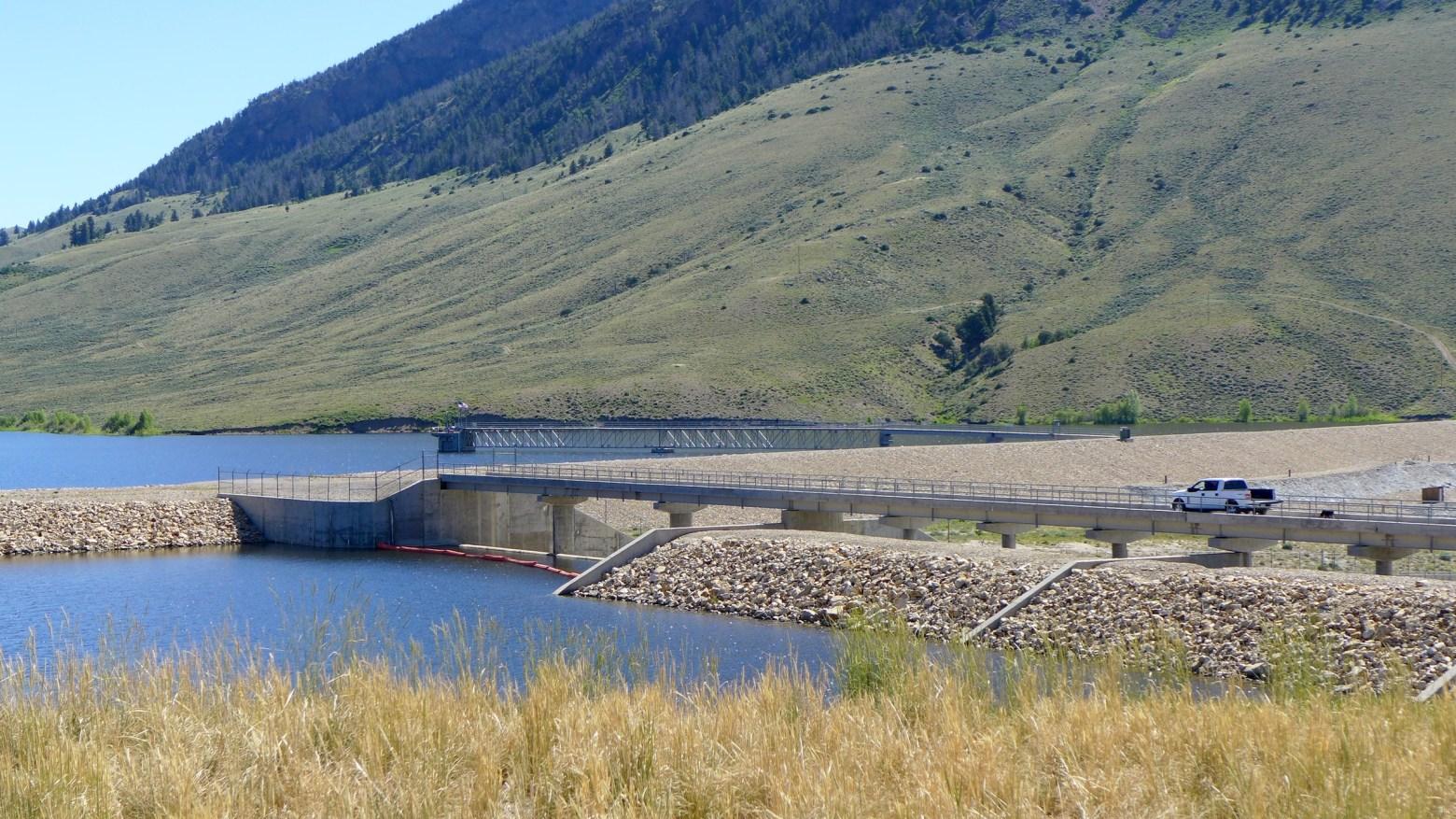 Ritschard dam photo 1