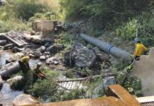 Water diversion photo