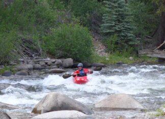 River kayaking photo