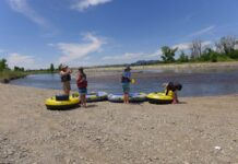 Yampa River rafting photo