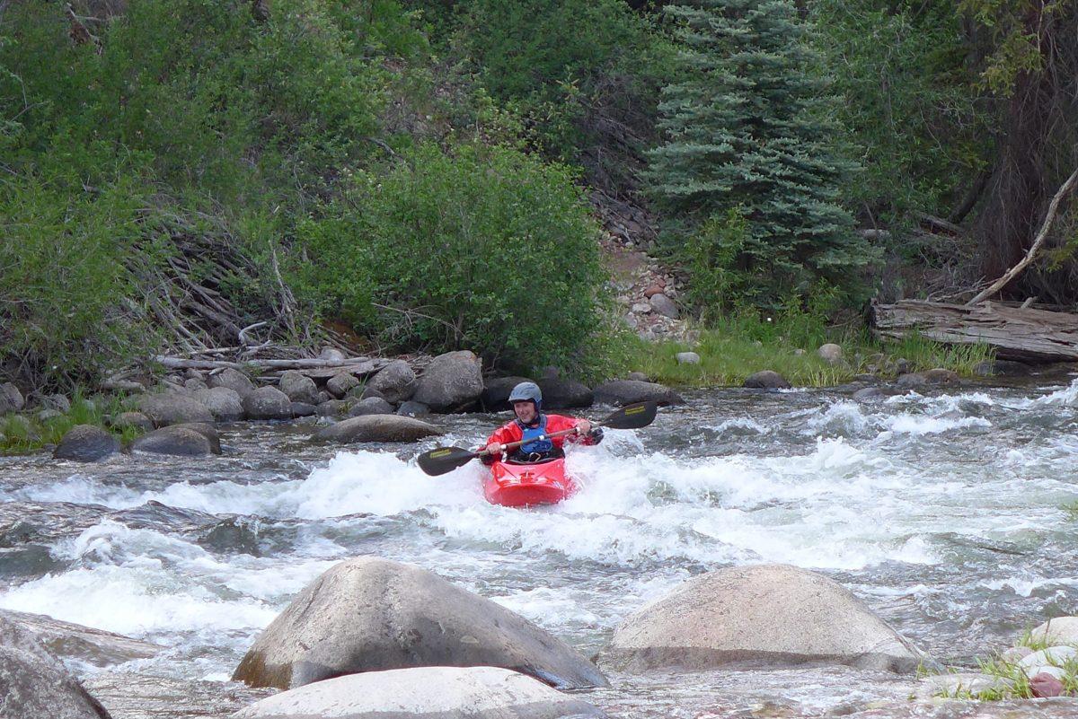 River kayaker photo