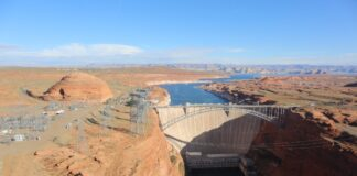 Glen Canyon Dam photo