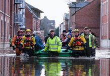 Flooding in Northern England photo